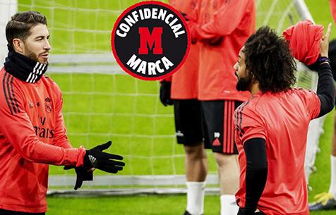 Между Марсело и С. Рамосом произошёл конфликт на тренировке