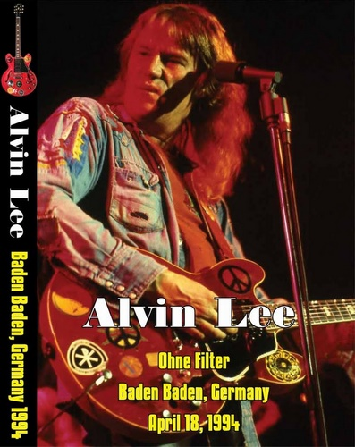 Alvin Lee - Ohne Filter Extra, Baden-Baden (1994, DVD5)