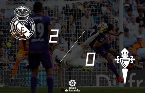 Real Madrid C.F. - R.C. Celta de Vigo 2:0