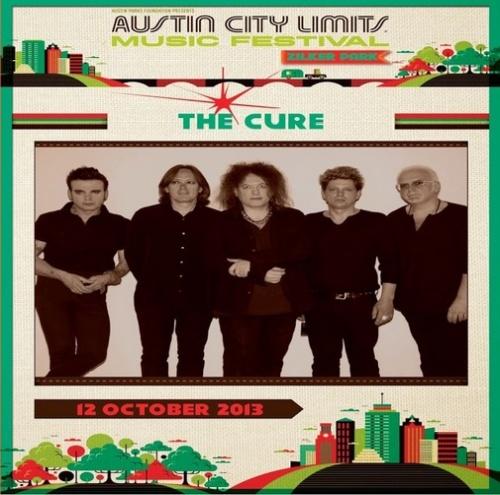 The Cure - Austin City Limits (2013, DVD5)