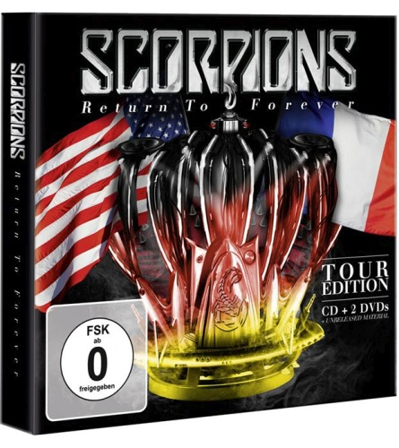 Scorpions - Return to Forever Tour Edition (2016, 2xDVD9)