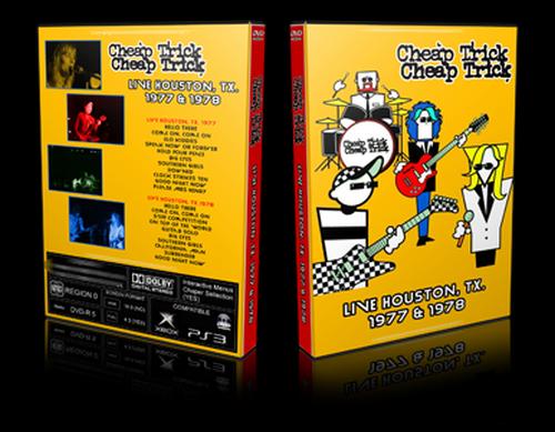 Cheap Trick - Live Houston 1977-1978 (2019, DVD5)