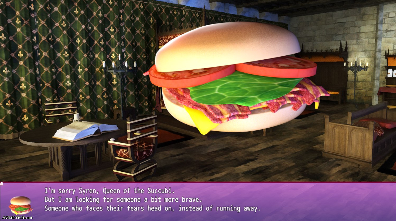 Bacon Quest: Lover's Beef Special Edition [2018] [Cen] [ADV, 3DCG] [ENG] H-Game