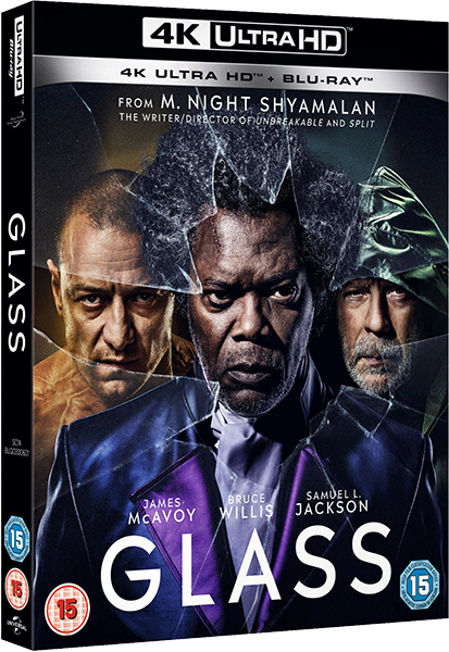 Стекло / Glass (2019) UHD BDRip 2160p | 4K | HDR | HDRezka Studio