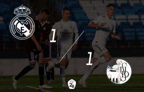 Real Madrid Castilla - Salamanca CF 1:1