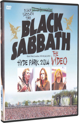 Black Sabbath - Hyde Park 2014 (2019, DVD5)