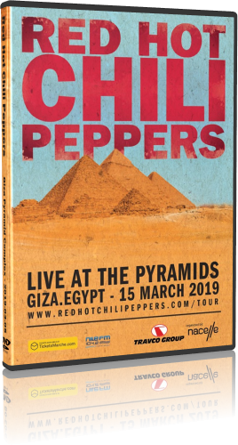 Red Hot Chili Peppers - Live at the Pyramids (2019, DVD9)