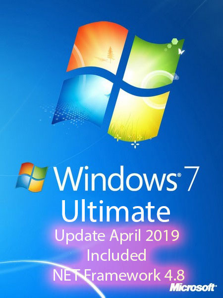 Windows 7 SP1 Ultimate ESD (x64) .NET 4.8 En-US April 2019