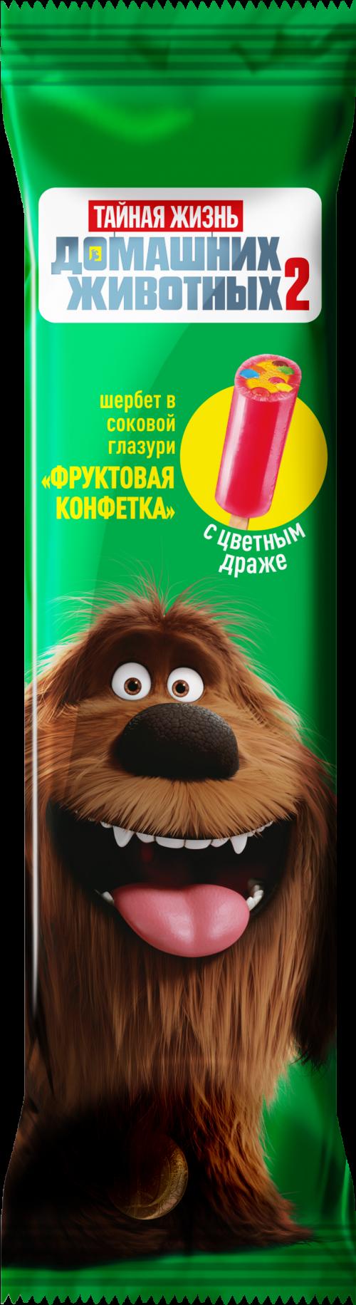 """Эскимо """"ТЖ"""", Дюк, фрукт. конфета, щербет в сок.глаз. с цв.драже, 60г *30 """"Сибхолод"""