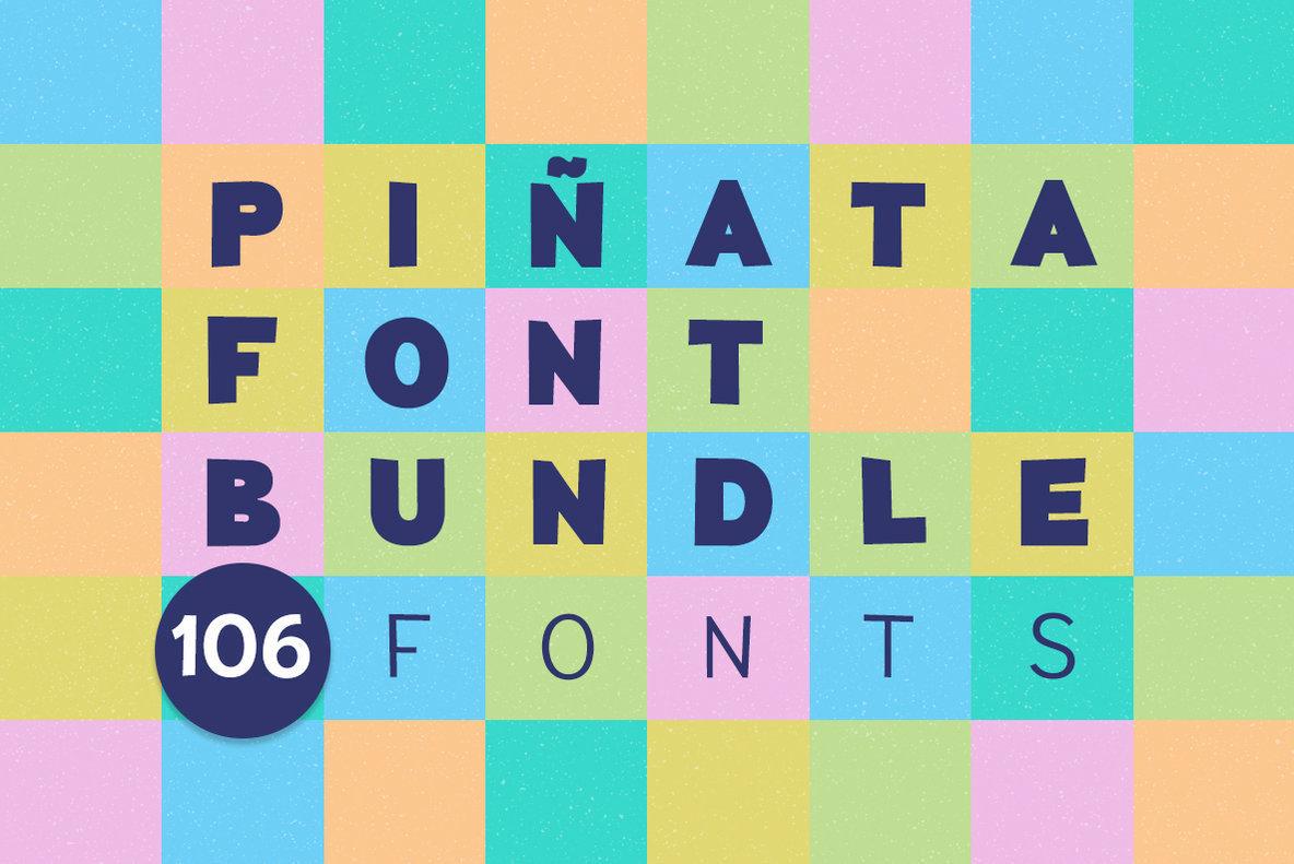 Шрифт Pinata