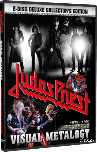 Judas Priest - Visual Metalogy 1978-1991 (2014, 2xDVD5)