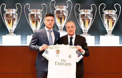 """Йович: """"Буду много работать, чтобы завоёвывать титулы с """"Мадридом"""""""