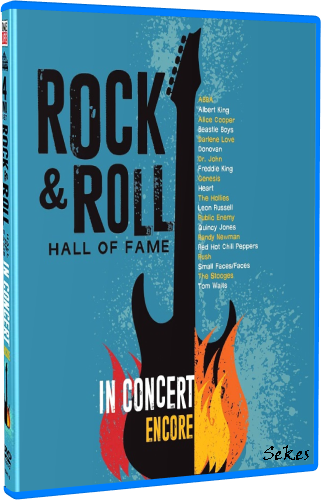 The Rock And Roll Hall Of Fame: In Concert: Encore (2018, Blu-ray)