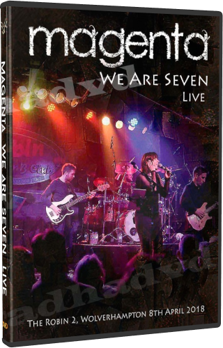 Magenta - We Are Seven Live (2018, 2xDVD5)