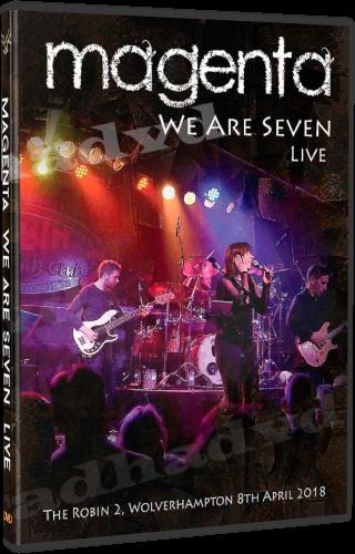 Magenta - We Are Seven Live (2018, DVD5)