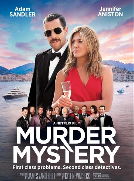 Загадочное убийство / Murder Mystery (2019) WEBRip-HEVC 1080p | HDR | Пифагор