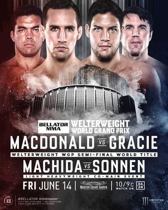 Смешанные единоборства. Bellator 222: Rory MacDonald vs. Neiman Gracie [Main Card] [14.06] (2019) IPTVRip