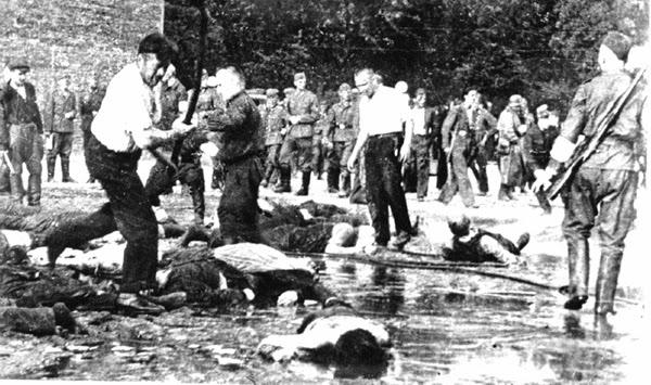 NKVD'istai, persirengę Lietuvos patriotais, žudo žydus Kaune, kad sukompromituotų kovą už Lietuvos Laisvę!DEMASKU...