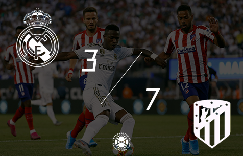 Real Madrid C.F. - Club Atletico de Madrid 3:7