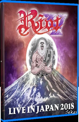 Riot V - Live In Japan 2018 (2019, Blu-ray)