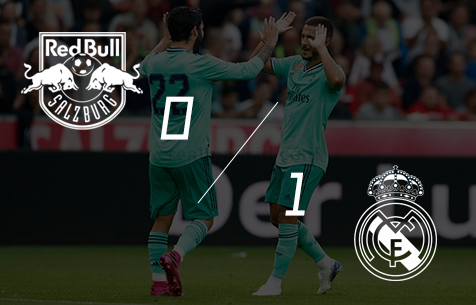 FC Red Bull Salzburg - Real Madrid C.F. 0:1