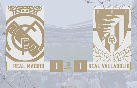 Real Madrid C.F. - Real Valladolid C.F. 1:1