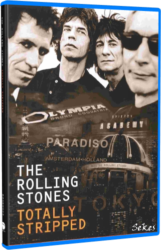 The Rolling Stones - Totally Stripped (2016, 4xBlu-ray)