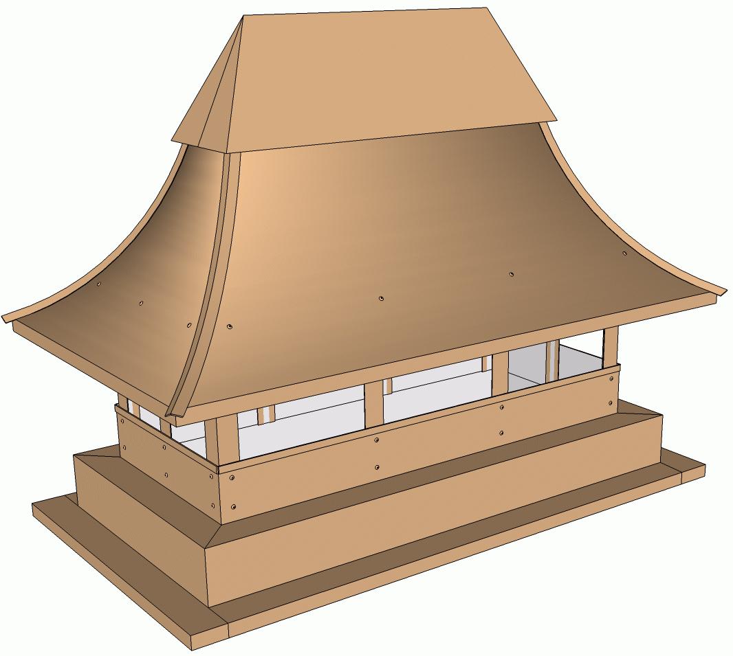 Дымник-пагода