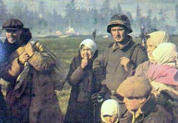 """""""Бой разведчиков с карателями"""" воспоминания разведчика Гершковича А. С."""