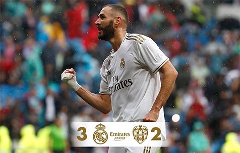 Real Madrid C.F. - Levante UD 3:2