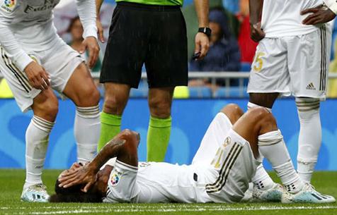 Официально: Марсело получил повреждение