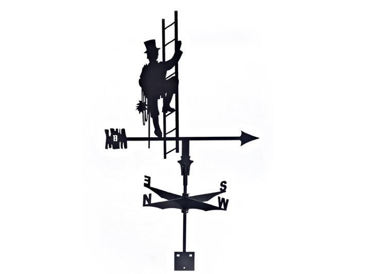 Флюгер-трубочист