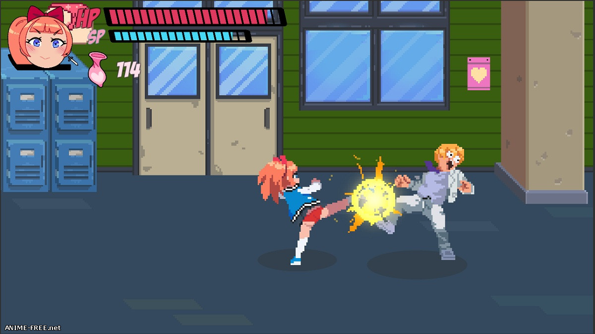 Lewd City Girls [2019] [Uncen] [Action, Side-scroller, Pixel] [ENG] H-Game