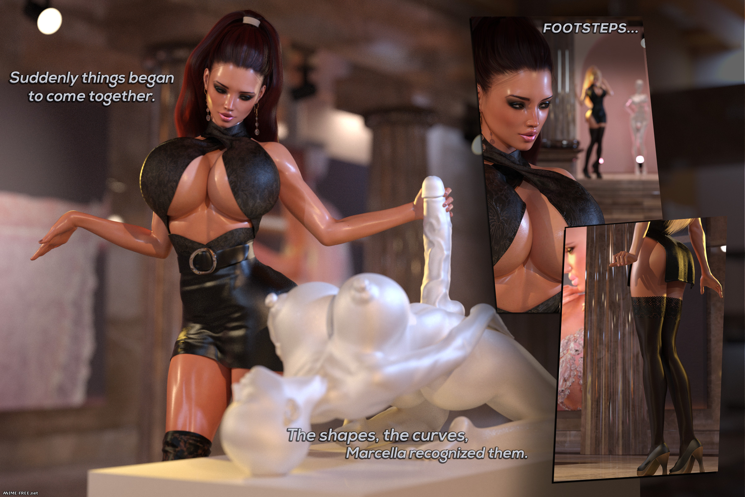 Lust Unleashed: Kayla Meets Marcella [Uncen] [3DCG] [ENG] Porn Comics