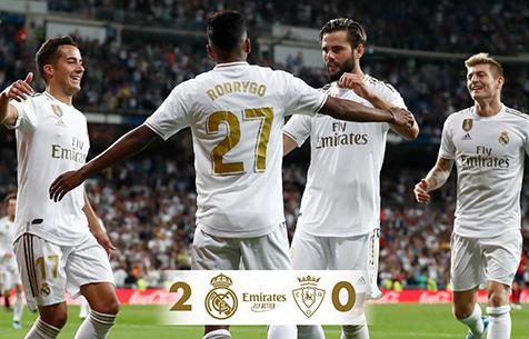 Real Madrid C.F. - CA Osasuna 2:0