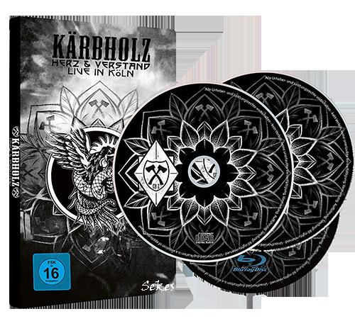 Kärbholz - Herz und Verstand - Live in Köln (2019, Blu-ray)
