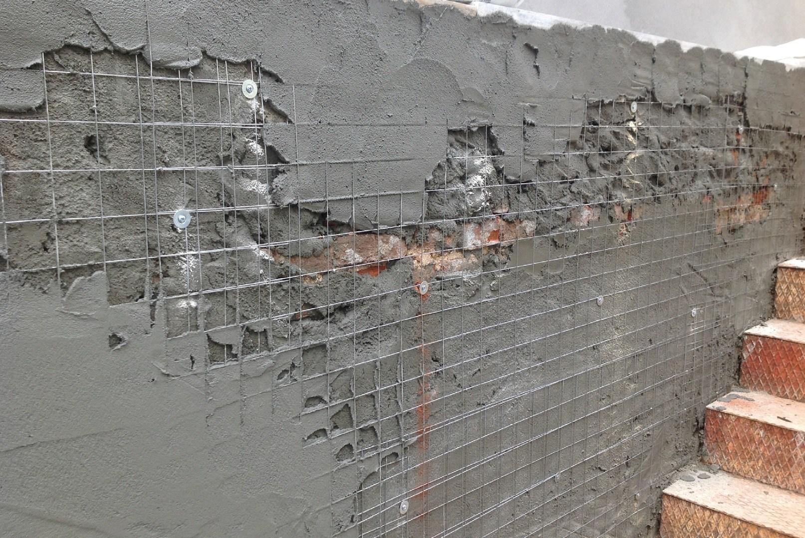 Вертикальное армирование кирпичных стен