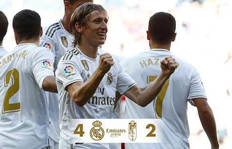 Real Madrid C.F. - Granada CF 4:2