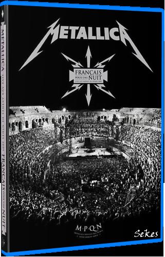 Metallica - Francais Pour Une Nuit (2009, Blu-Ray)