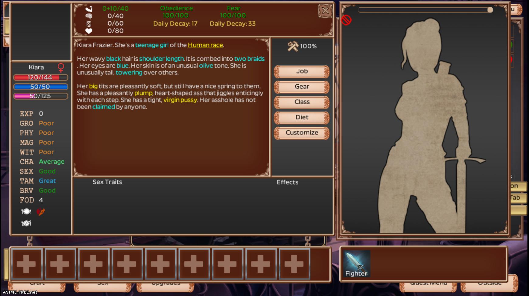 Strive Sequel [2019] [Uncen] [RPG] [ENG] H-Game