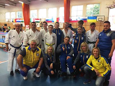 Международный открытый турнир по пара-каратэ