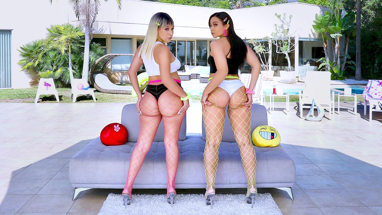 Adriana Maya, Valentina Jewels - Big Booty Love with Valentina and Adriana (2019) SiteRip |