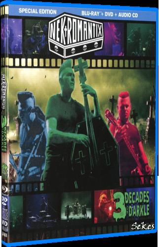 Nekromantix - 3 Decades Of Darkle Limited Edition (2019, Blu-ray)