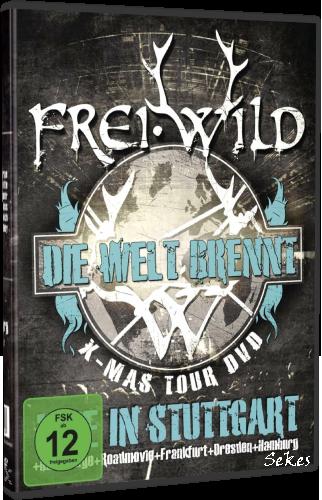 FreiWild - Die Welt Brennt Live in Stuttgart (2012, DVD9)