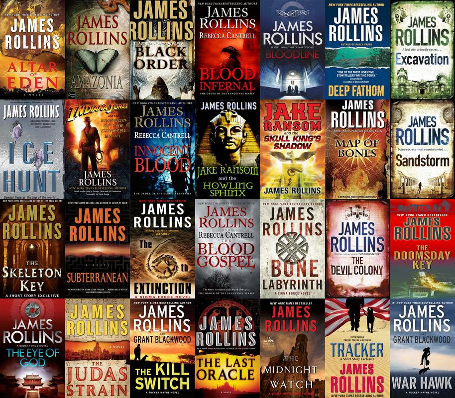 James Rollins - Collection