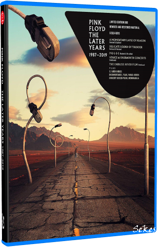 Pink Floyd - The Later Years 1987-2019 (2019, 6xBlu-Ray)