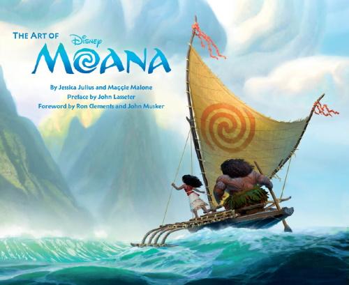 Walt Disney Animation Studios   Артбук по мультфильму Моана / The Art of Moana (2016) [PDF] [EN]