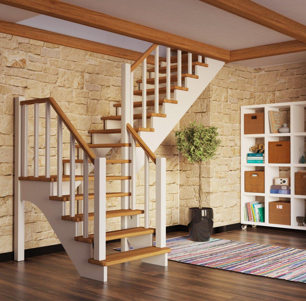 Картинки лестницы деревянные для домашних