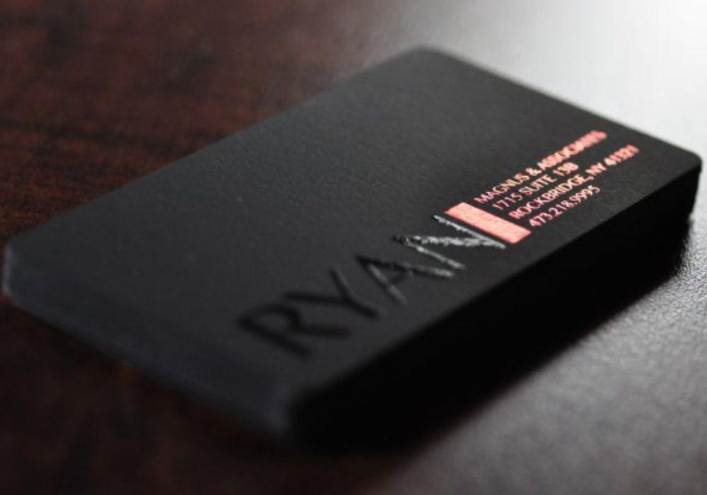 Печать визиток Тач Кавер: в чем их особенности