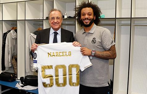 """Марсело провёл 500-й матч за """"Реал Мадрид""""!"""
